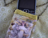 Small Gadget Necklace Case Cell Phone Camera Bag atc Style