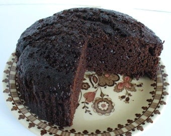 Vegan Chocolate Cake, Dairy-free Cake, Gluten-free option
