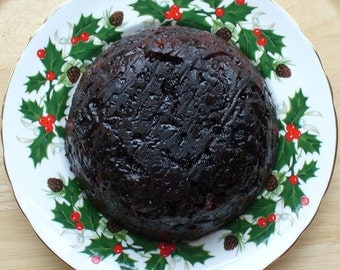 Traditional Christmas Pudding, Family sized, large, Plum Pudding