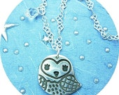 The Cutest Little Owl Necklace Ever