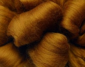 Merino Wool Top for Spinning or Felting - 1 ounce - Patina