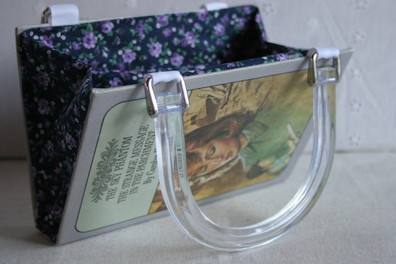 Nancy Drew...The Sky Phantom AND The Strange Message in the Parchment....Book Purse