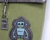Robot Flap Bag