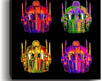 Steampunk Optimus Prime Helmet  Print for Tiffany