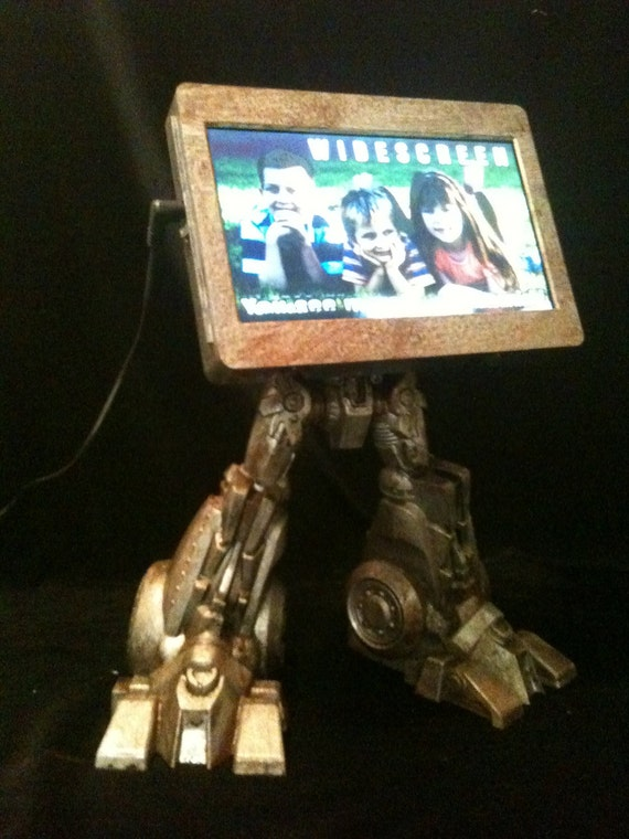TransFRAMER Optimus Frame Digital Photo Frame Steampunk Robot Mech