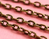 10 Feet Antique Bronze Cross Chains CHT104Y-AB