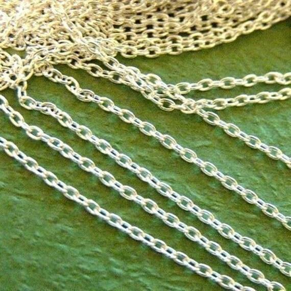 20 Feet Silver Cross Chains 000-S