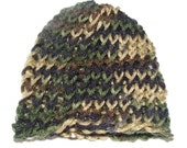 Newborn camo hat