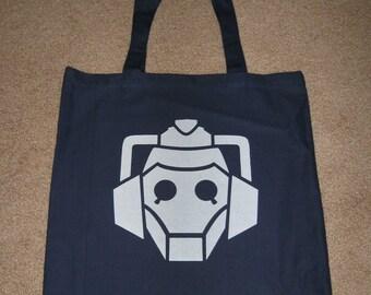 Cyberman Tote Bag
