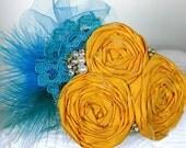 FRIDA Handmade Silk Rosette Headband