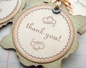 THANK YOU Gift Tags in Sage Green