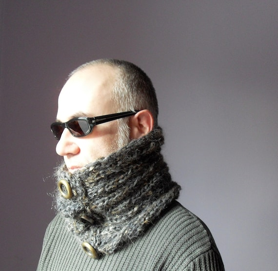 FOR HIM - Hand Knitted Cowl