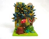 Jackalope - Limited Edition Ceramic Mini Sculpture