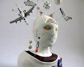 The Astronaut - Space Exploration - Sculpture