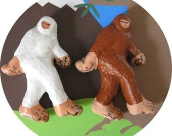 Bigfoot and Abominable Snowman - Pin Set