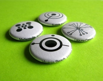 Magnet Pack - Crop Circle Silhouettes
