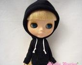 Blythe black sweatshirt hoodie