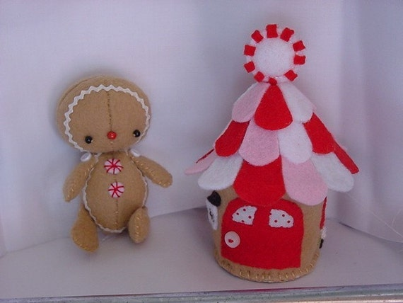 Gingerbread Baby and house