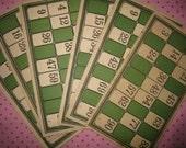 Vintage Lotto Cards