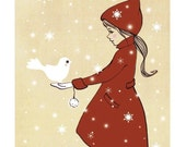 Elle and the Snow Dove