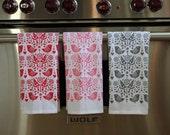 bird tea towels (set of 3)