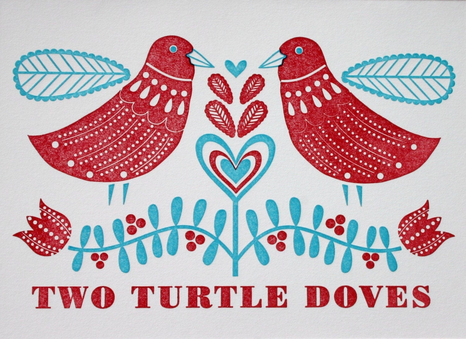 2 Turtle Doves — Crafthubs