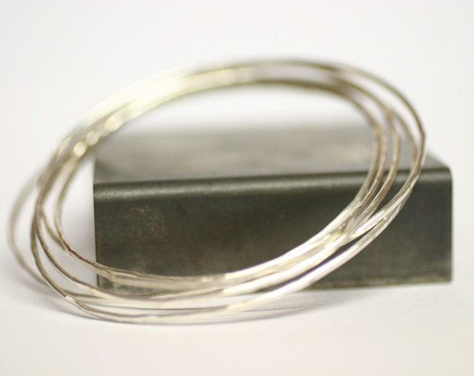 Featured listing image: SALE Bangles Sterling Silver Bracelets, silver bangles, sterling bangles, bangle bracelets, hammered bangles