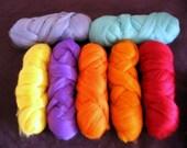 Australian Merino wool, felters,spinners, embellishers, scrapbookers