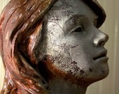 Ceramic Sculpture of a Woman - The Bee Queen -  by Keith Phillips
