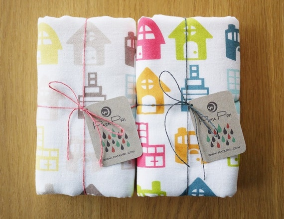 set of 2 towels - large size
