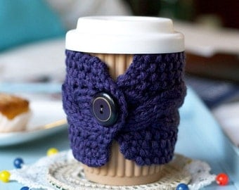 Knit Coffee Cozy Three Pack - Save 20%
