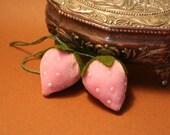 Baby Pink Strawberry Charm