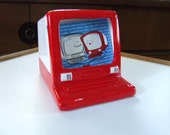 classic computer pencil holder ceramic picture frame