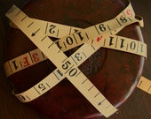 1m Double Sided Old Measuring Tape