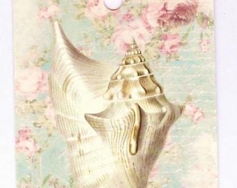 Sea Shell Gift Tags   by Bluebird Lane