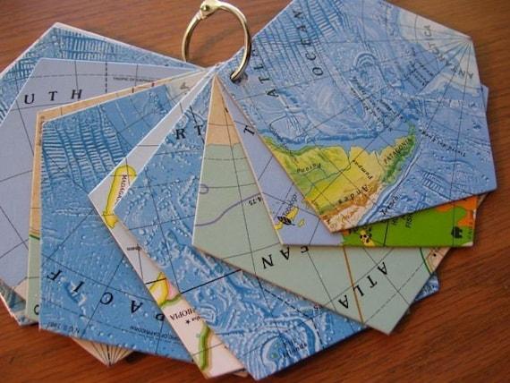 Unique Mini Album Blank Book Made of Game Board Pieces