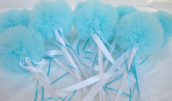 Tulle Wands, Wee Whimsy Wishing Wands - Party Pack of 6
