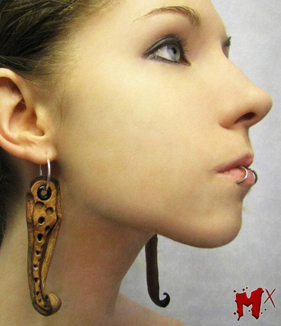 Cthulhu Earrings by Meatwerx