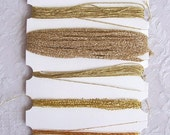 Fiber Embellishments from On the Surface - Gilt Edge (GET126)