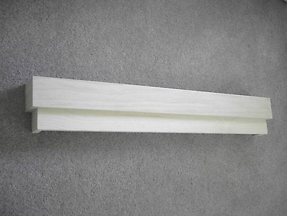 Modern Mission Style Cornice Wood Window Valance Unfinished