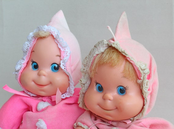 1970 Baby Beans Dolls By Mattel
