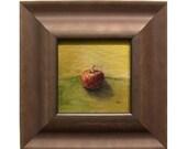 Apple Still Life Original Oil Painting - Apples Study