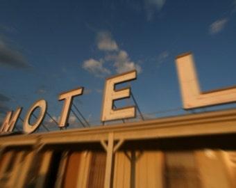 Motel Sign Fine Art Photograph