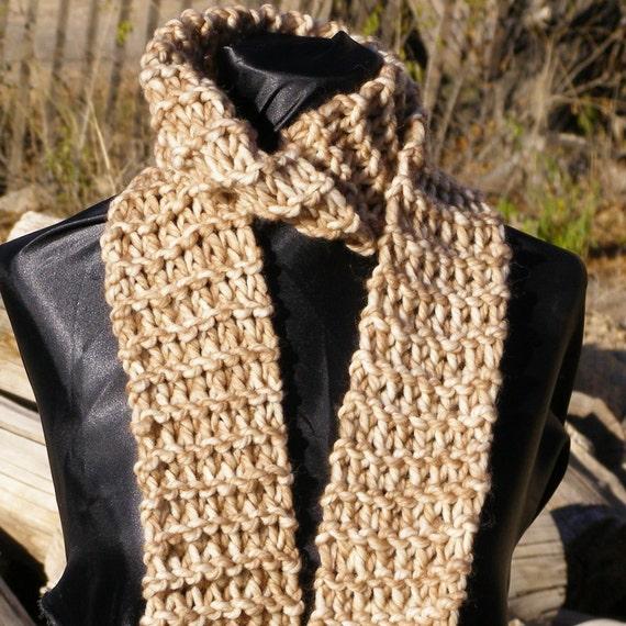 100 Percent Italian Wool Scarf In Brown