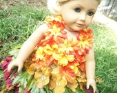 Beauty of Fall  Dress for the American Girl