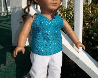 Perfecrt for Spring Top and Pants for the American Girl
