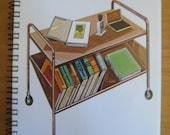 Found Item Notebook: Book Cart
