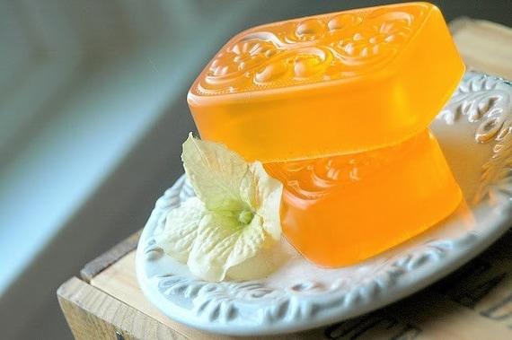 Orange Blossom . olive oil . flirty summer soap
