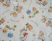 Japanese Cotton Fabric - Sweet pigs  (458)