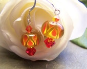 Fire Sunset Earrings